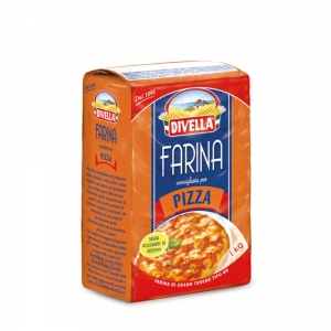 Divella Farina Tipo 00 Pizza - Mąka do pizzy (1 kg)