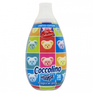 Coccolino Intense Tropical pop- koncentrat do płukania tkanin (570ml- 38p)
