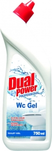 Dual Power WC - żel do WC (750 ml)
