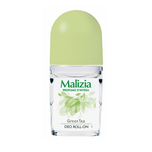 Malizia Green Tea - dezodorant w kulce (50 ml)